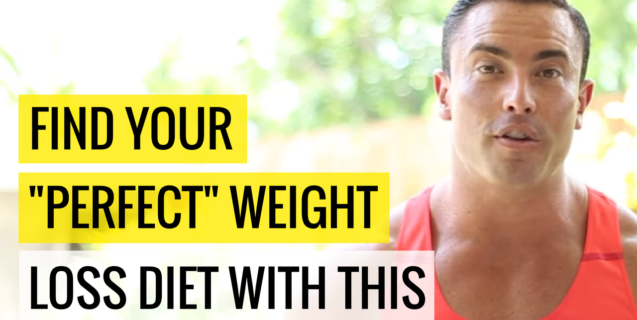 "Find Your ""Perfect"" Weight Loss Diet With THIS"