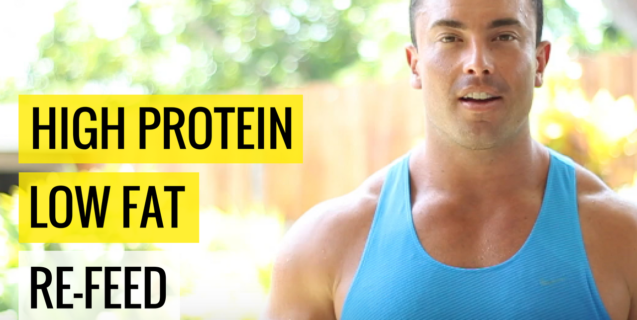 High Protein Low Fat Re-Feed #cleantreat