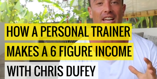 How A Personal Trainer Makes a 6 Figure Income  |  #StrollSession with Chris Dufey