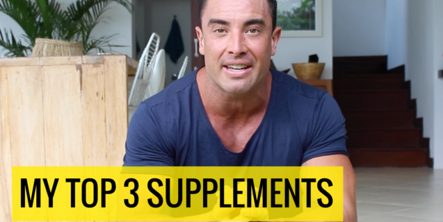My Top 3 Supplements #StrollSessions
