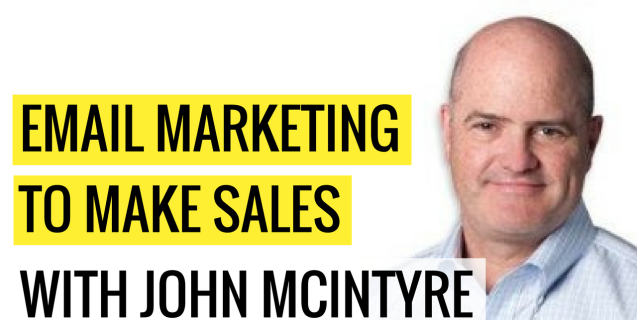 #16 Email Marketing To Make Sales With John McIntyre | Ask The Pro Podcast w/ Chris Dufey