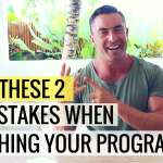 Avoid These 2 Big Mistakes When Launching Your Online Fitness Program