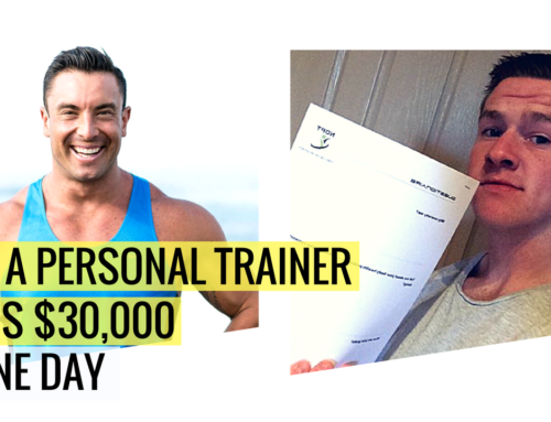 How A Personal Trainer Earns $30,000 in ONE DAY