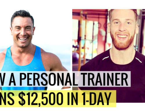 How A Personal Trainers Earns $12,500 In 1-Day